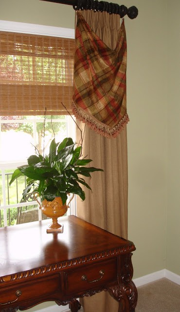 WorthingCourt.blogspot.com: Skirted drapery panels