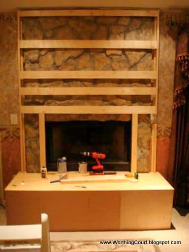 DIY Fireplace Makeover Worthing Court