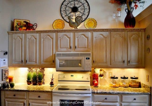 DIY French Country Kitchen Makeover