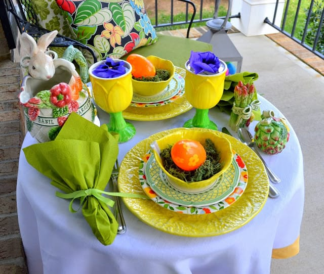 WorthingCourt.blogspot.com: Easter Tablescape
