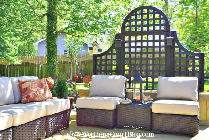 Loads of tips for how to create an inviting outdoor space. You can always choose to build a wall where nothing currently exists. You don't have to have a roof and the design is limited only by your creativity.