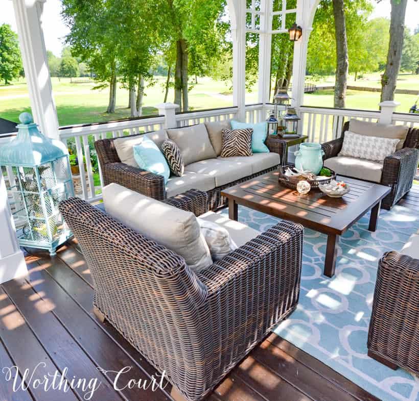 Decorating Ideas Stunning Deck Decor