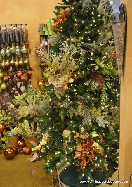 how to decorate a christmas tree via worthing court blog - Decorative Picks For Christmas Trees