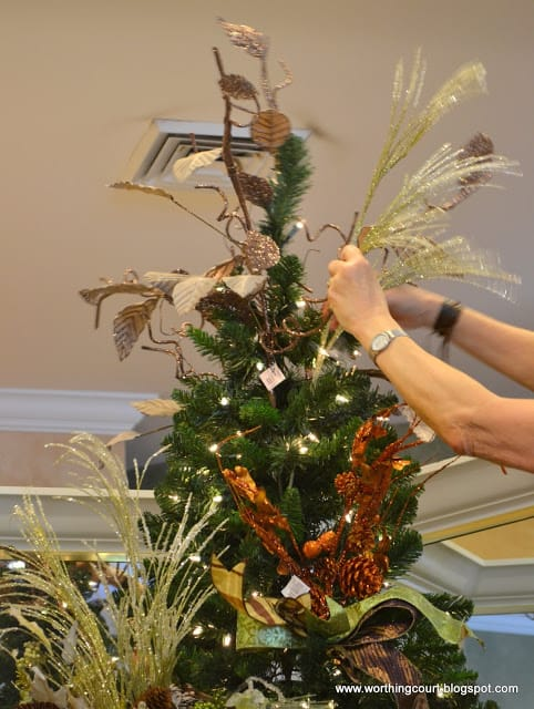 how to decorate a christmas tree via worthing court blog - Christmas Tree Filler Decorations