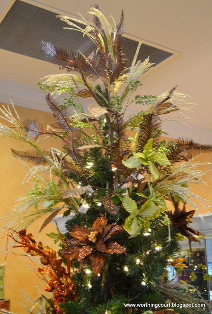 how to decorate a christmas tree via worthing court blog - Designer Christmas Tree