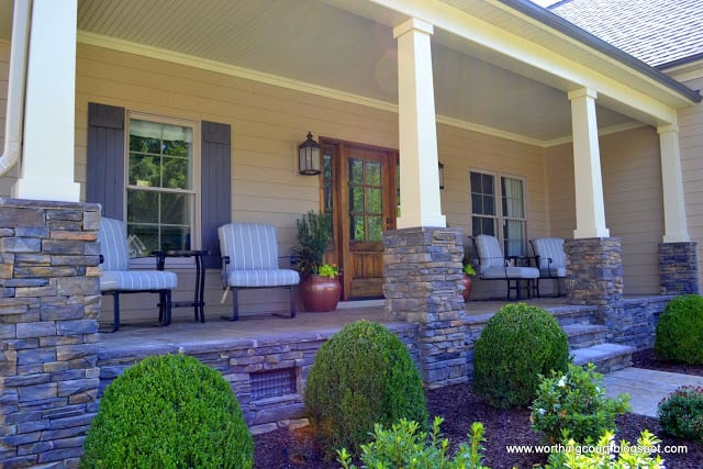 front porch via Worthing Court blog