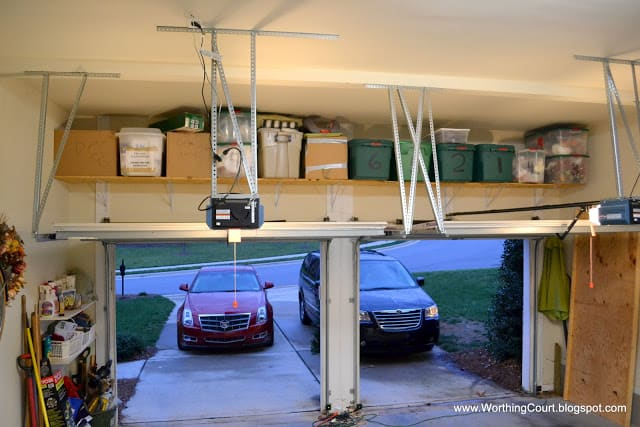 How to organize christmas decorations worthing court for Attic storage bow