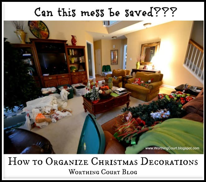 Worthing Court: How to organize Christmas decorations