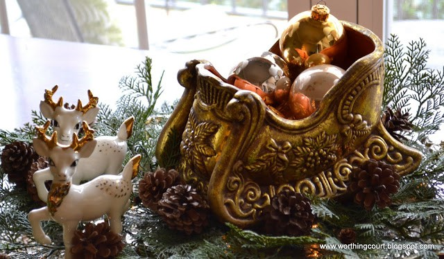 Worthing Court: Christmas vignette
