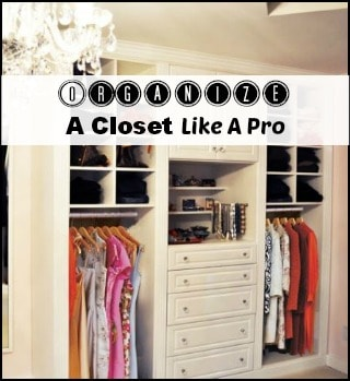 Closet Organizing Tips From A Pro