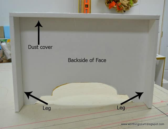 How to make an upholstered cornice via Worthing Court blog