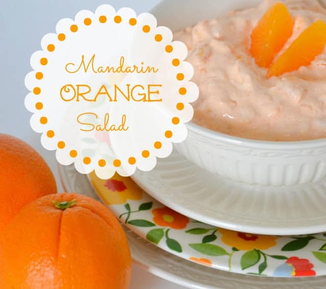 Madarin Orange Jello Salad from Worthing Court blog