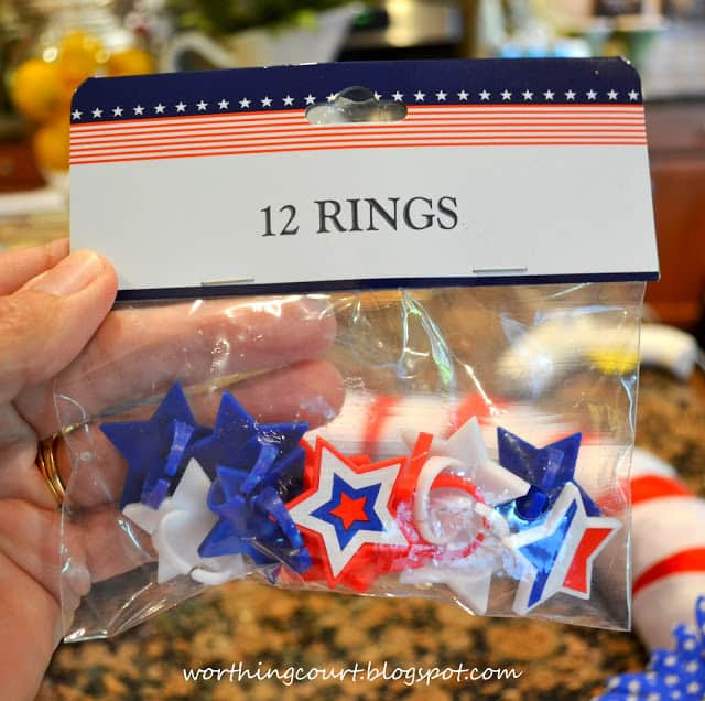 Patriotic Wreath from Worthing Court blog