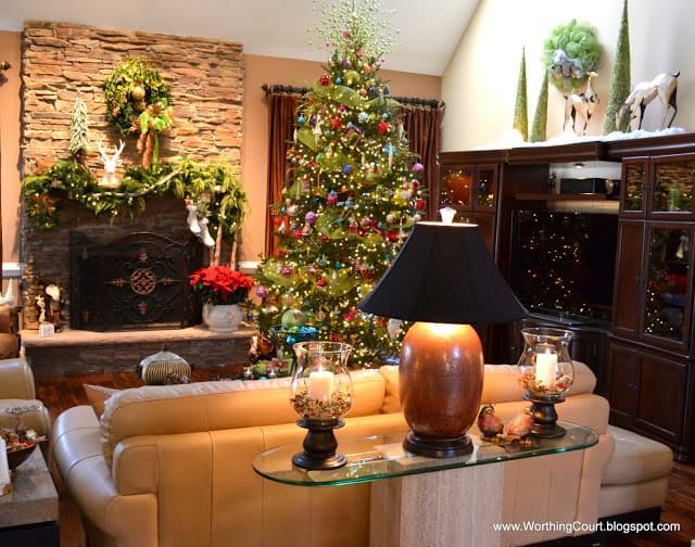 Christmas at Nancy's – The Living Room and Dining Room