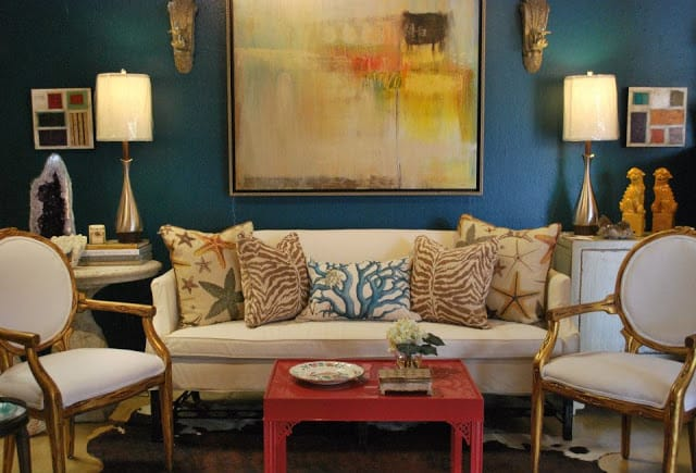 Decorating With Patriotic Red, White And Blue