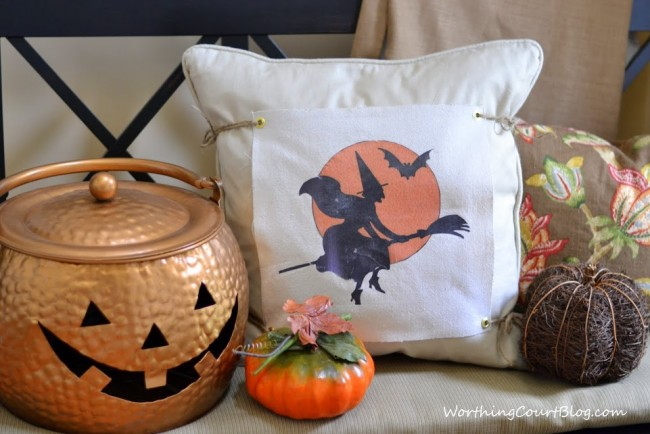 Halloween changeable pillow cover