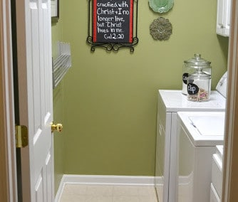 House Tour – The Laundry Room