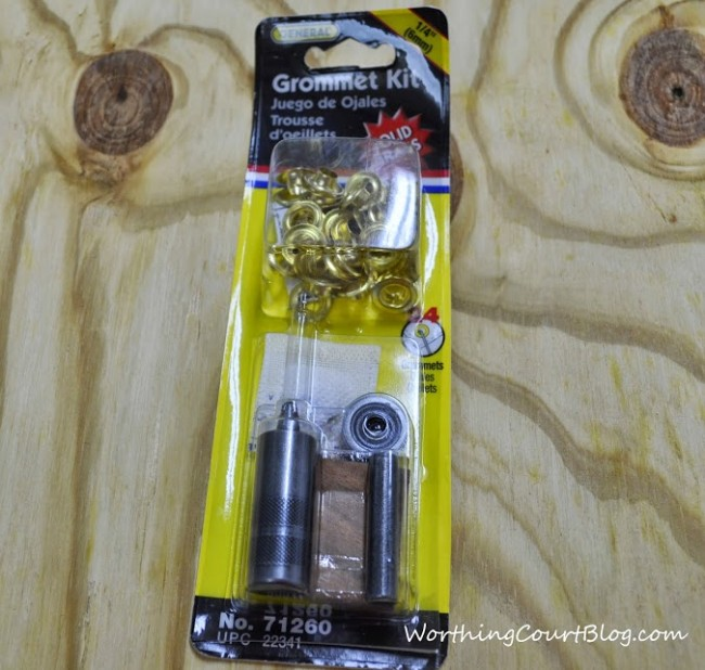 Grommet kit from Home Depot