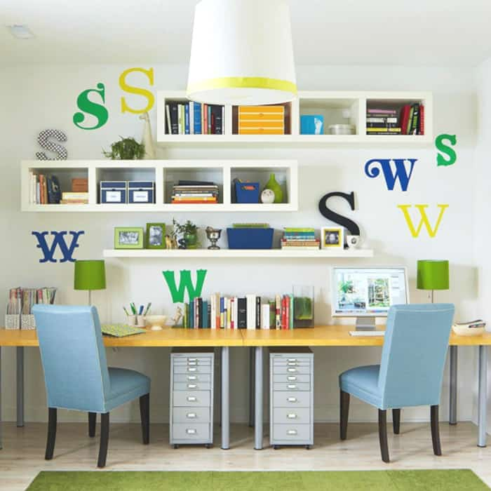 How To Create A Homeword Area For Kids - an organized space is key