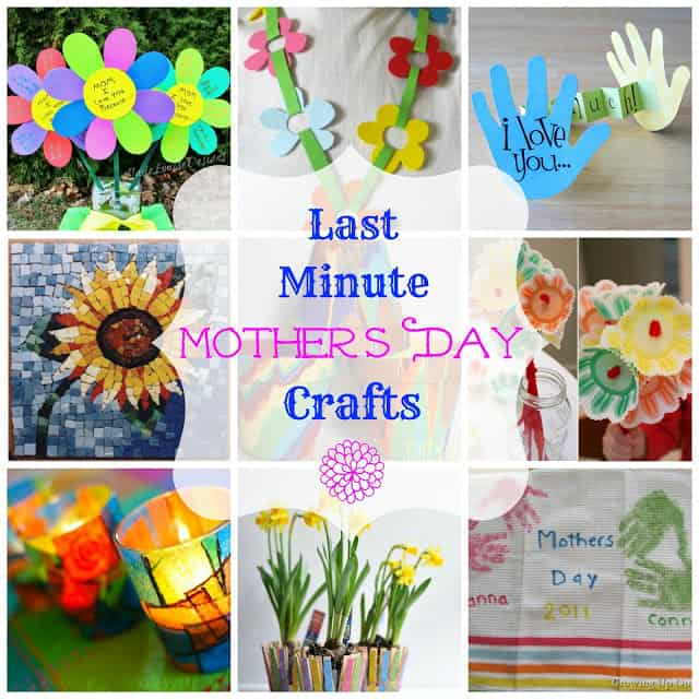 Md crafts w for Easy craft projects for mother s day
