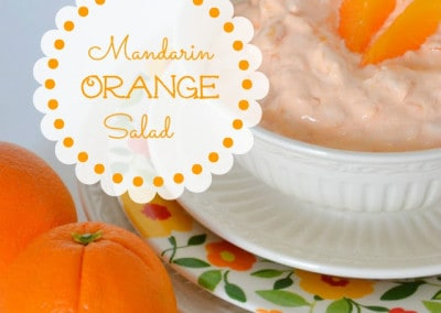 Mandarin Orange Jello Salad Recipe