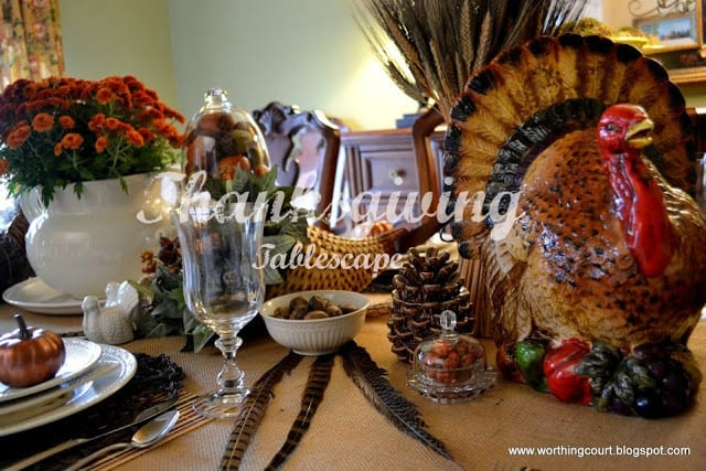 Bounty of the Harvest Thanksgiving Table