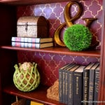 ReStyling the Living Room Bookcases