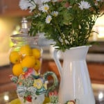 A Summer Vignette in the Kitchen