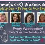 Home{work} Wednesday #19