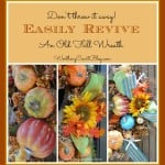 One Fall Wreath – Revived For Three Different Looks