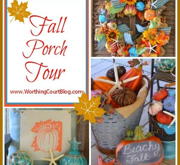 Worthing Court: Beach Fall Porch Tour