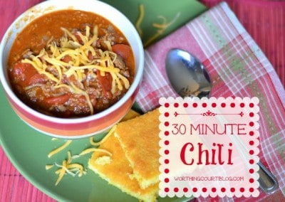 Recipe: 30 Minute Chili