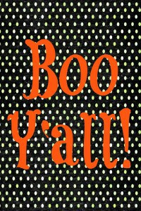 Worthing Court: 'Boo Y'all' Free Halloween Printable