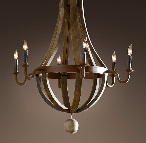Gorgeous chandelier from Restoration Hardware