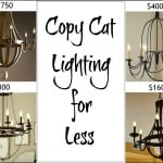 Copycat Lighting For Less