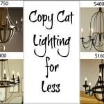 Copycat Lighting For Less