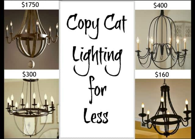 Worthing Court: Copycat Lighting for less