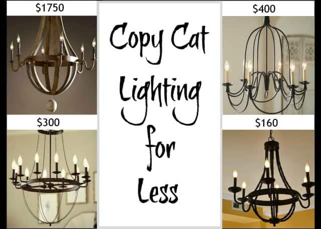 Worthing Court: Copycat Lighting for less