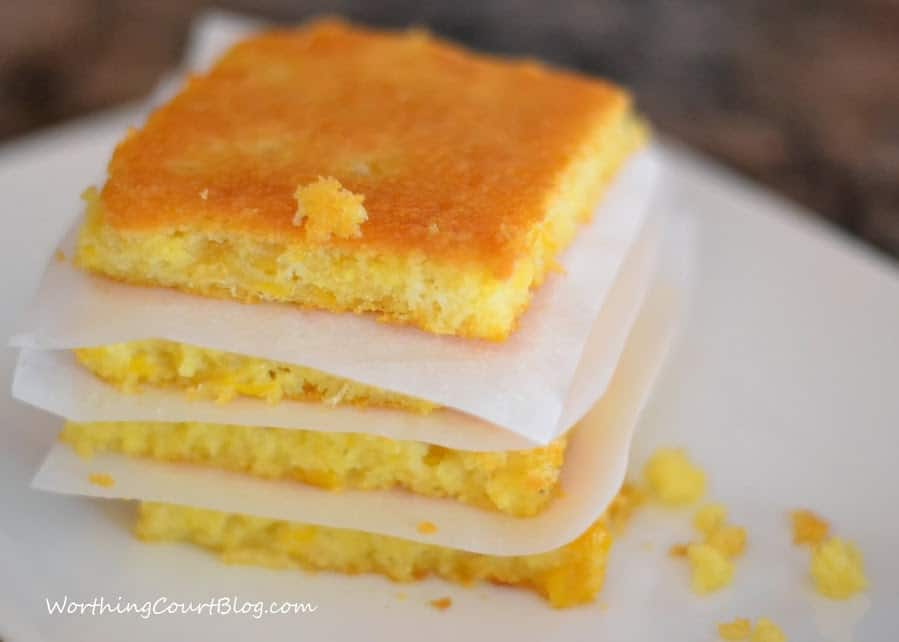 Sweet, Moist and Delicious Cornbread Recipe || Worthing Court