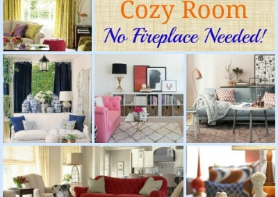 11 Steps To A Cozy Room – No Fireplace Needed!