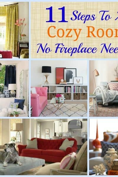 Worthing Court: 11 Steps to a Cozy Room - No fireplace needed!
