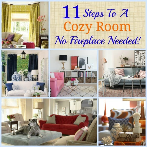 Worthing Court: 11 Steps To A Cozy Room   No Fireplace Needed! Part 47