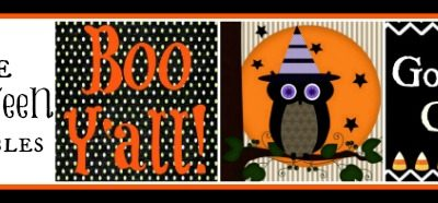 Halloween No-Sew Fabric Art