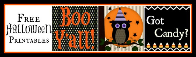 3 Free Halloween Printables