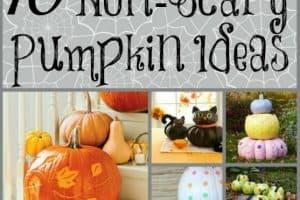 10 Non-Scary Halloween Pumpkin Ideas