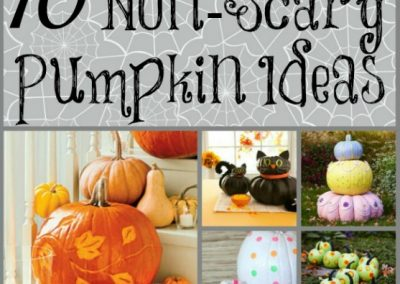 10 Non-Scary Halloween Pumpkin Ideas