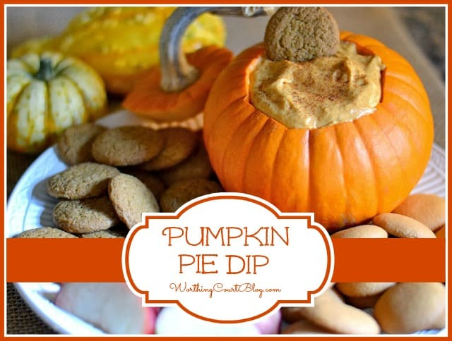 Worthing Court: Pumpkin Pie Dip
