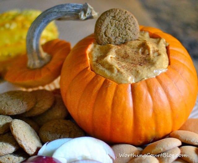 Worthing Court: Pumpkin Pie Dip