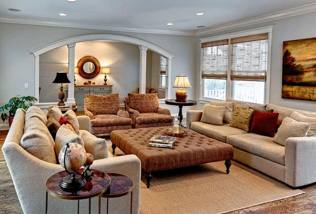11 steps to a cozy room no fireplace needed worthing court How to design a living room with a fireplace