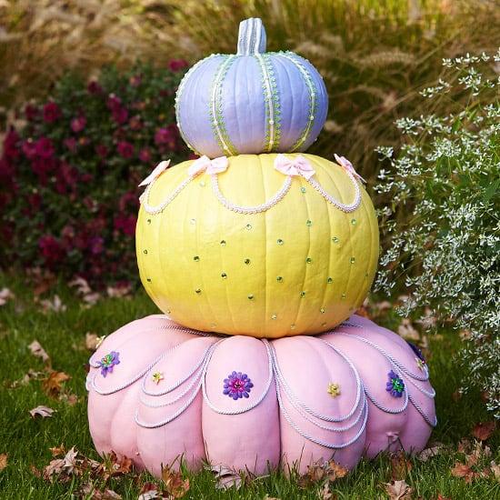 Non scary princess pumpkins
